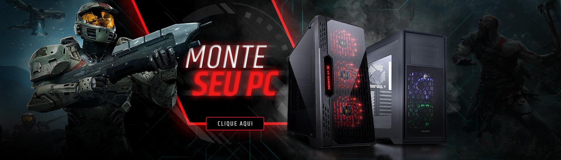 Monte seu PC