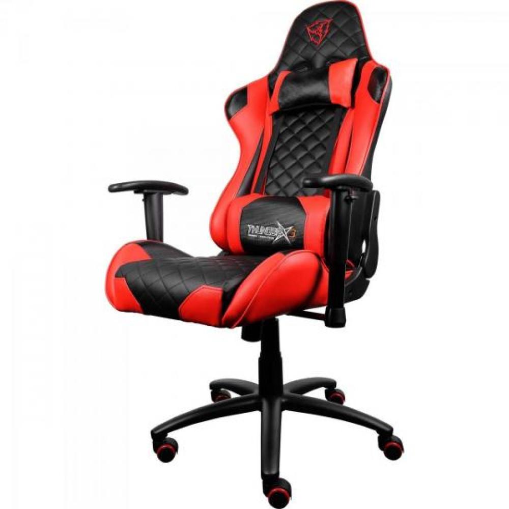 Cadeira Thunderx3 Gamer Tgc12 Preta Vermelha Umpoukodetudo