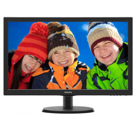 Monitor Philips LED 21.5 223V5LHSB2 HDMI / VGA Preto