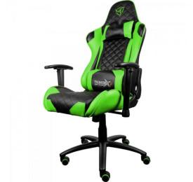 Cadeira THUNDERX3 Gamer Profissional TGC12 Preta/Verde