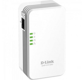 Extensor Alcance D-Link Powerline Wireless DHP-W310AV 300Mbps