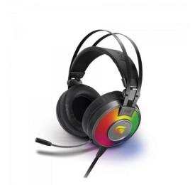 Headset Fortrek Gamer RGB G Pro H3+ 7.1 Cinza