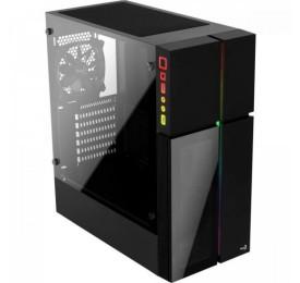 Gabinete Gamer Aerocool PLAYA RGB Vidro Temperado
