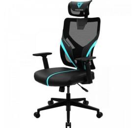 Cadeira THUNDERX3 Ergonomic Yama1 Preta/Cyan