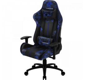 Cadeira Gamer THUNDERX3 BC3 Preto/Azul Admiral