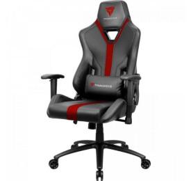 Cadeira Gamer THUNDERX3 YC3 Preta/Vermelha