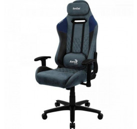 Cadeira Gamer AEROCOOL Duke Steel Blue