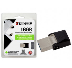 PENDRIVE KINGSTON SMARTPHONE DTDUO3/16GB 16GB USB E MICRO USB 3.0