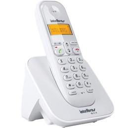 Telefone sem Fio Intelbras TS 3110 Display Iluminado e Ident. Chamadas Branco