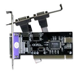 Placa Multiserial 2x Serial + 1 Paralela PCI