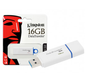 PENDRIVE KINGSTON DTIG4/16GB 16GB AZUL USB 3.0