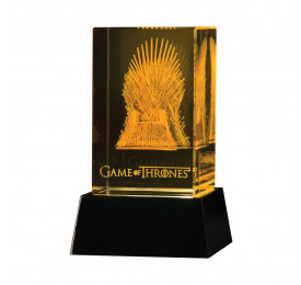 ACTION FIGURE GAME OF THRONES - CRYSTAL IRON THRONE