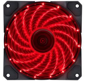 Cooler Gabinete VINIK VX Gaming V.LUMI 15 Pontos de LED Vermelho 120mm VLUMI15R