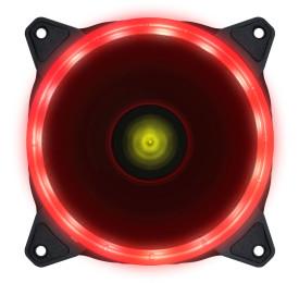 Cooler Gabinete Vinik VX Gaming V.RING Anel de LED 120mm Vermelho - VRINGR