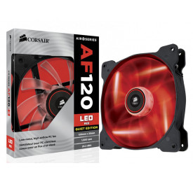 Cooler Gabinete Corsair AF120 120MM Quiet Edition Led Vermelho CO-9050015-RLED