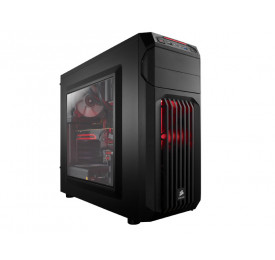Gabinete Corsair Carbide Series SPEC-01 Vamp Red LED CC-9011050-WW