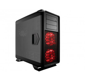 Gabinete Corsair Gamer 760T Full Tower c/ Led Vermelho CC-9011073-WW Preto