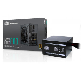 Fonte Cooler Master MWE 600W 80 Plus Bronze MPX-6001-ACAAB-WO