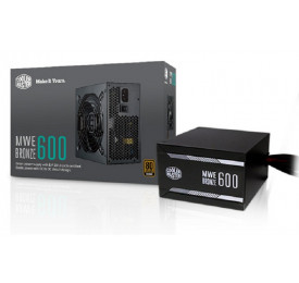 Fonte Cooler Master MWE 600W 80 Plus Bronze MPX-6001-ACAAB-BR