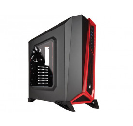 Gabinete Corsair Carbide Series SPEC ALPHA CC-9011085-WW Preto/Vermelho