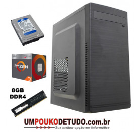 Computador UPK AMD Ryzen 3 3200G 3.6GHZ / 8GB DDR4 / HD 1TB 7200RPM