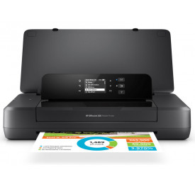 IMPRESSORA HP OJ 200 JATO DE TINTA COLOR PORTATIL WIFI