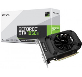 Placa de Video Geforce PNY GTX 1050TI 4GB DDR5 VCGGTX1050T4PB