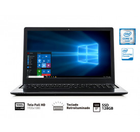 NOTEBOOK VAIO FIT 15S I3-6006U 4GB 128GB SSD 15.6 FHD Win10 SL