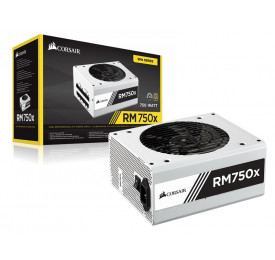 Fonte Corsair RMX 750W CP-9020155-WW Modular White 80 Plus Gold