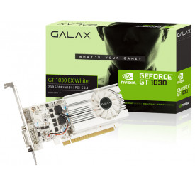 Placa de Video Geforce GALAX GTX 1030 EXOC White 2GB 30NPK4HVS6XW