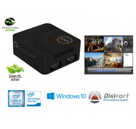 NVR PRO MULTIMIDIA DIGIFORT SECURITY LIVA ZE PLUS CORE I5-7200U 4GB 1TERA 16CAM 4K Win 10