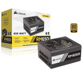 Fonte Corsair RMI 650W Modular 80 Plus Gold CP-9020081-WW