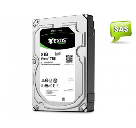 HD Seagate Enterprise ST8000NM0075 8TB 256MB SAS 12GB/s