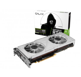 Placa de Video GALAX RTX 2080 OC White 8GB DDR6 28NSL6UCT6WO