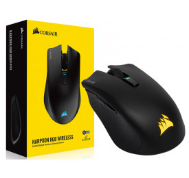 Mouse Corsair Gamer Wireless HARPOON RGB 10000DPI CH-9311011-NA