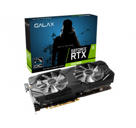 Placa de Video Geforce GALAX GTX 2080 1Click OC 8GB GDDR6 28ISL6MDU9EX
