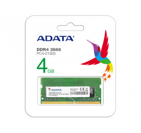 MEMORIA NOTEBOOK DDR4 ADATA AD4S2666J4G19-S 4GB 2666MHZ CL17 SO-DIMM 260-PIN 1.2V