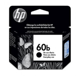Cartucho HP 60B Preto 4,5ml