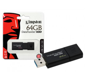 Pendrive Kingston DT100G3/64GB 64GB USB 3.0