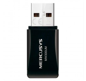 Adaptador Wireless Mercusys Mini MW300UM 300Mbps USB