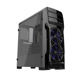 Gabinete C3Tech Gamer MT-G650BK Preto