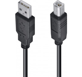 Cabo USB para Impressora A/B 3M