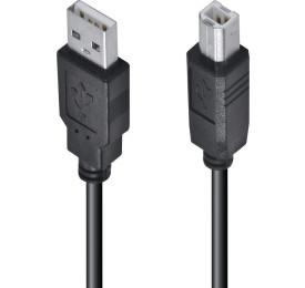 Cabo USB para Impressora A/B 1,8M