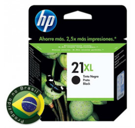Cartucho HP 21XL Preto 16ML