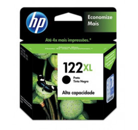 Cartucho HP 122XL Preto 8,5ML