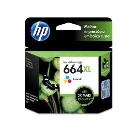 Cartucho HP 664XL Colorido 8ML