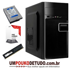 Computador UPK AMD Athlon A6 9500 3.25GHz / 4GB DDR4 / HD 1TB 7200RPM