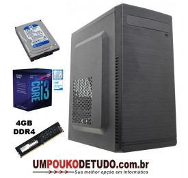 Computador UPK Home INTEL I3 9100F 3.6GHZ / 4GB DDR4 / HD 1TB