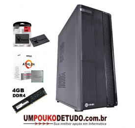 Computador UPK Slim AMD Athlon 3000G 3.5GHZ / 4GB DDR4 / SSD 120GB