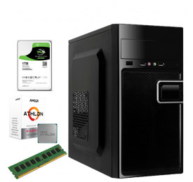 Computador UPK AMD Athlon 200GE 3.2GHZ / 4GB DDR4 / HD 500GB